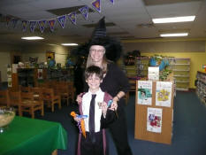A witch and his little wizard