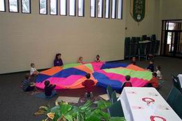 I loved playing with the parachute when I was in school!